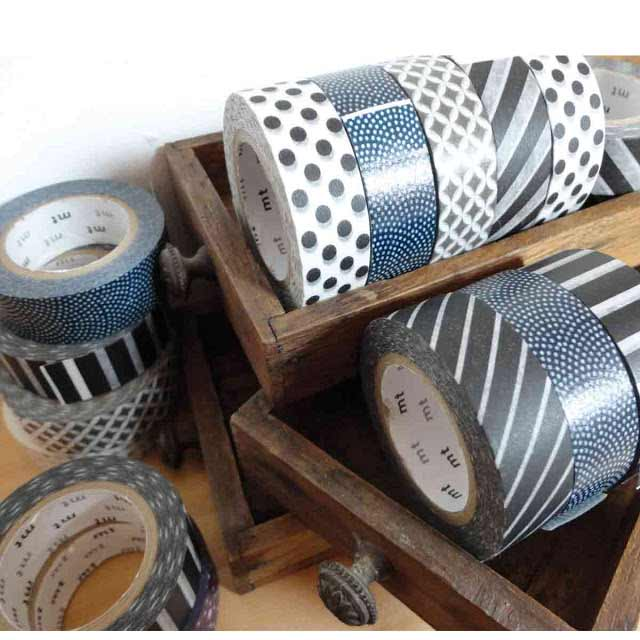 masking tape washi ensemble-tapes-gris